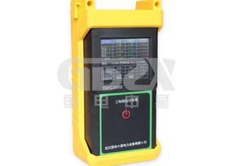 Finger Touch Three Phase Power Analyzer , Power Quality Monitoring Equipment Static Data Save Function